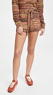 The Upside Nitara Knit Shorts