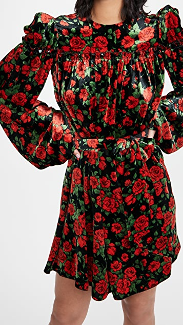 The Vampires Wife The Mini Length Smock Dress