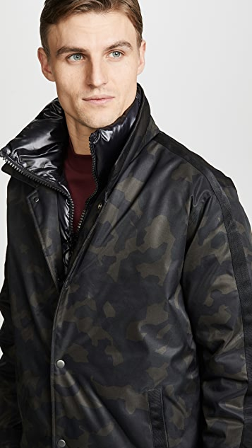 The Very Warm Geo Camo Garvey Jacket