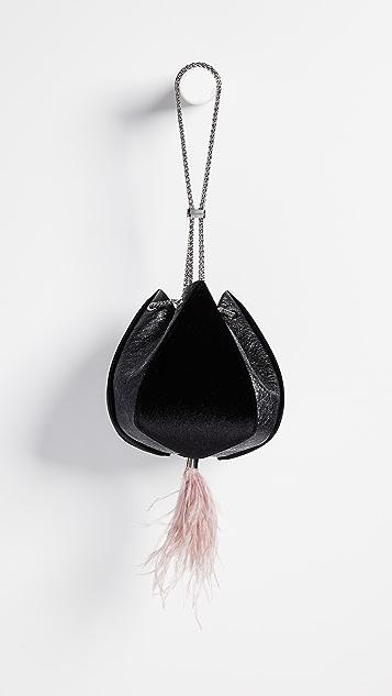 THE VOLON Cindy Feather Bag