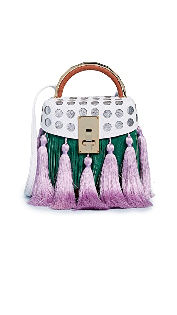 THE VOLON Box Tassel Bag