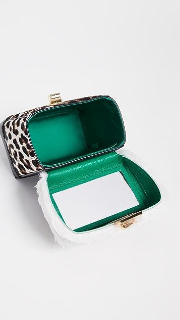 THE VOLON Great L. Faux Fur Box Bag