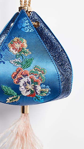 THE VOLON Cindy Flower Bag