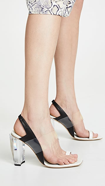 THE VOLON Toe Ring Sandals
