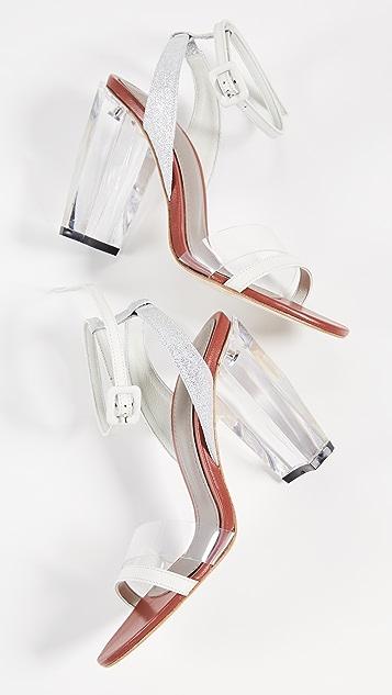 THE VOLON Slingback Sandals