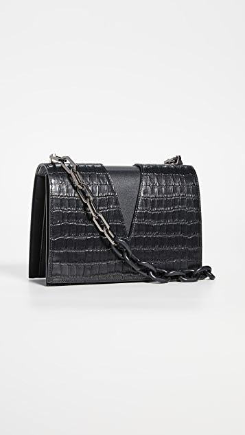 THE VOLON V Chain Shoulder Bag