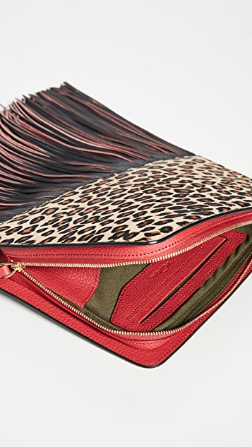 THE VOLON Dia Clutch Bag