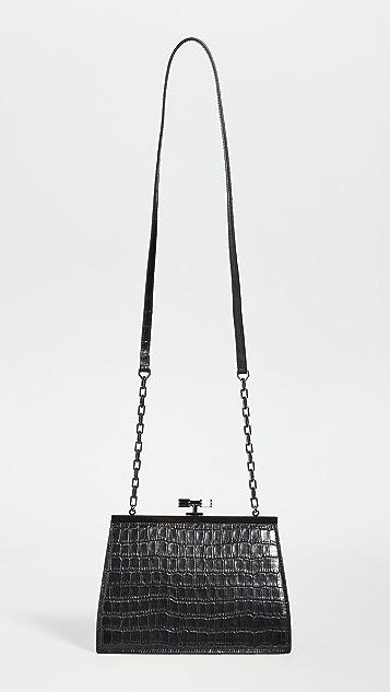 THE VOLON Маленькая сумка с рамкой Chateau
