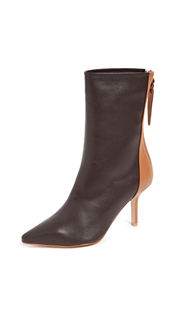 THE VOLON Dico Ankle Booties