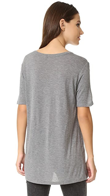 T by Alexander Wang Classic T Shirt with Pocket