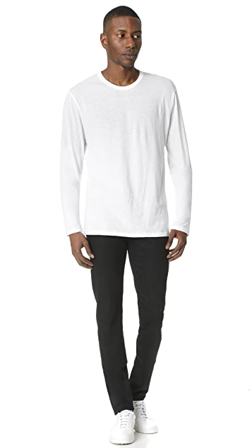 T by Alexander Wang Classic Long Sleeve Tee