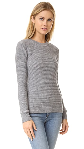 T by Alexander Wang Waffle Knit Pullover