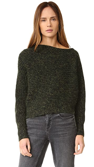 T by Alexander Wang Asymmertical Pullover