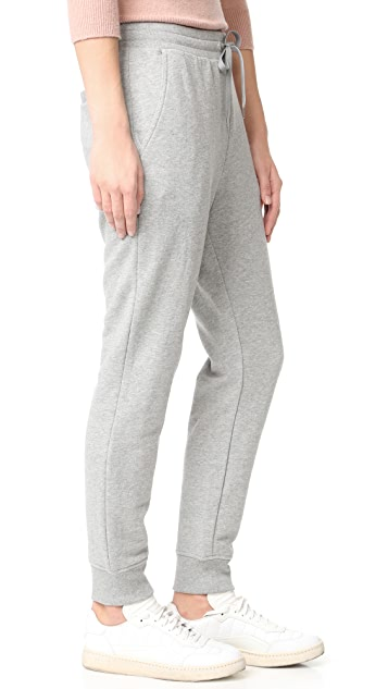 T by Alexander Wang Soft French Terry Sweatpants