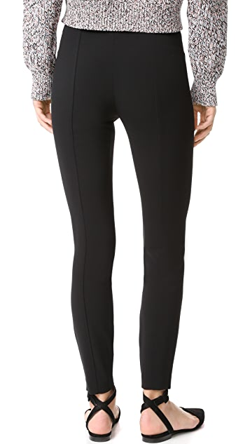 T by Alexander Wang High Waist Fitted Pants