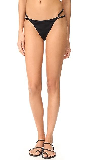 T by Alexander Wang Cutout Detail Bikini Bottoms