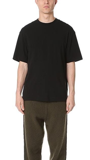 T by Alexander Wang Oversized Short Sleeve Tee