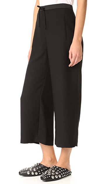 T by Alexander Wang Wide Leg Pants