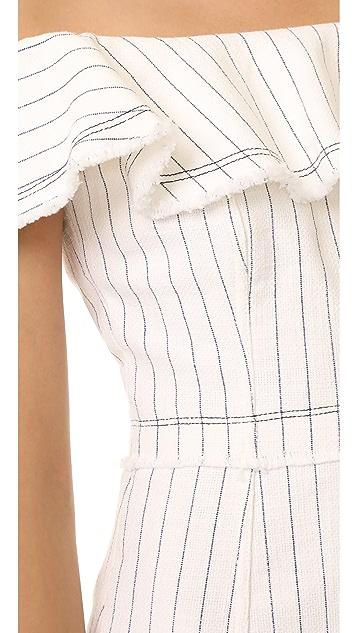 T by Alexander Wang Off Shoulder Dress