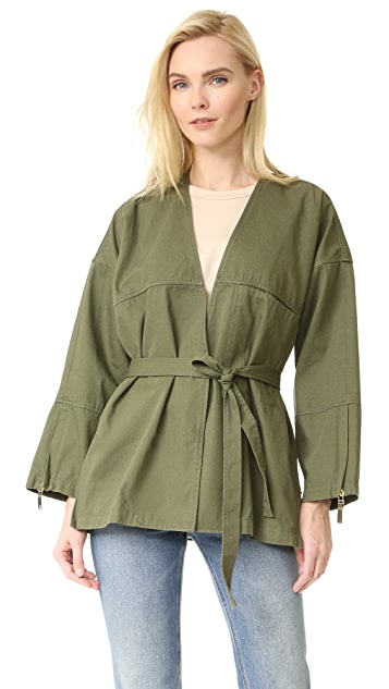 T by Alexander Wang Wrap Jacket