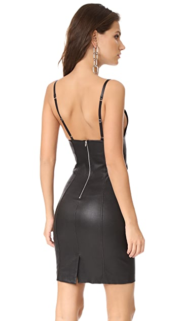 T by Alexander Wang Fitted SLVS Dress