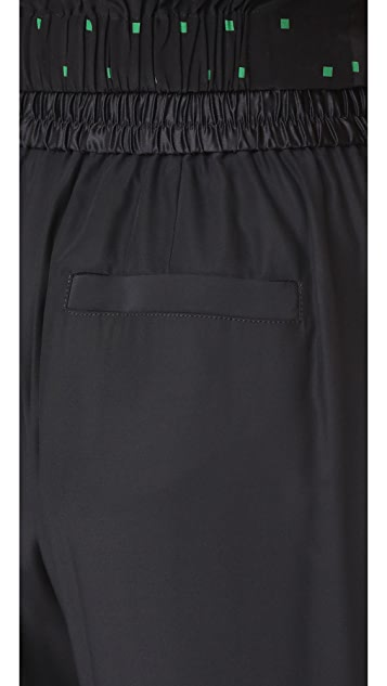 T by Alexander Wang Wide Leg Pull On Pants