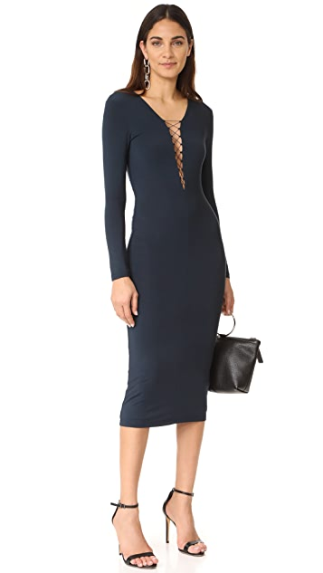 alexanderwang.t Lace Up Dress