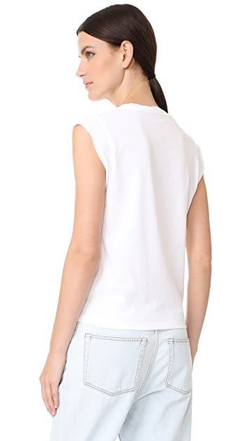 T by Alexander Wang High Twist Muscle Tee