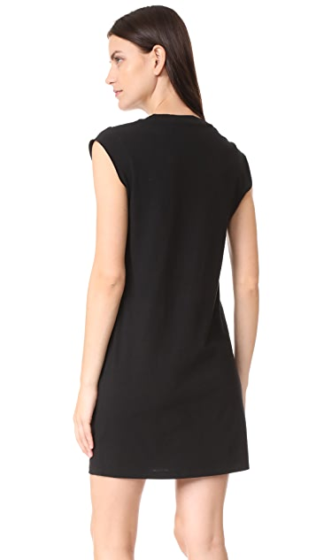alexanderwang.t High Twist Jersey Tee Dress