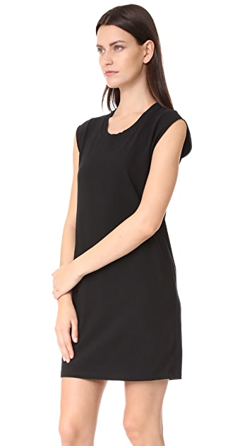 T by Alexander Wang High Twist Jersey Tee Dress