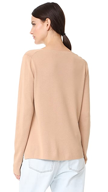 alexanderwang.t Milano Knit V Neck Sweater