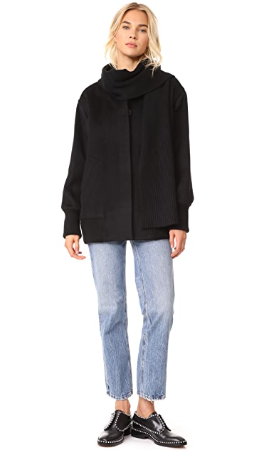 T by Alexander Wang Wool Coat
