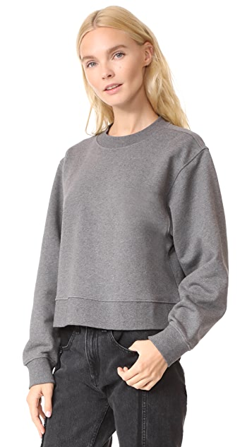T by Alexander Wang Tie Back Sweatshirt