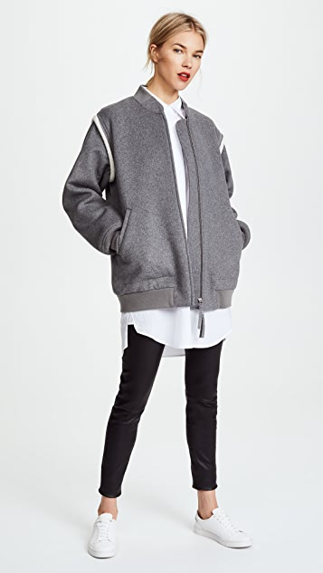 alexanderwang.t Double Faced Wool Jacket