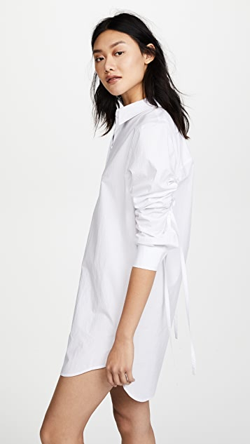 alexanderwang.t Long Sleeve Shirtdress