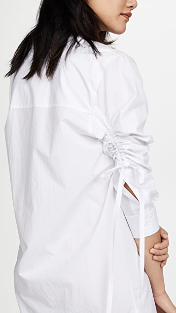 T by Alexander Wang Long Sleeve Shirtdress