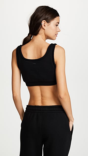 T by Alexander Wang Fleece Bralette