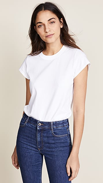 T by Alexander Wang High Twist Short Sleeve Bodysuit