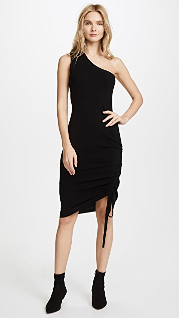 T by Alexander Wang One-Shoulder Sweater Dress