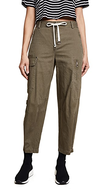 alexanderwang.t Cotton Twill Cargo Pants