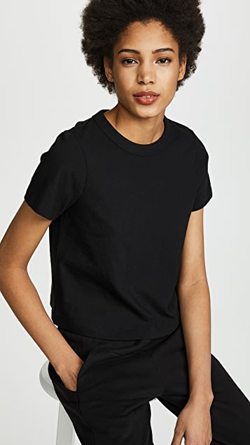 alexanderwang.t Jersey Tee with Boy Crop