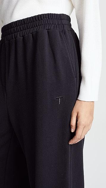 T by Alexander Wang Wide Leg Pants