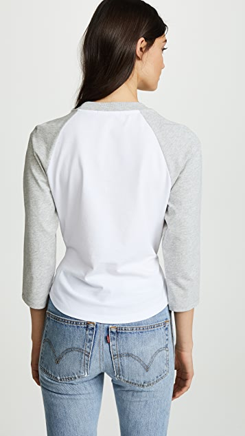 T by Alexander Wang High Twist Jersey Twist Front Top