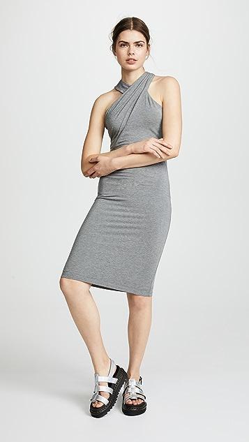 alexanderwang.t Stretch Jersey Crisscross Dress