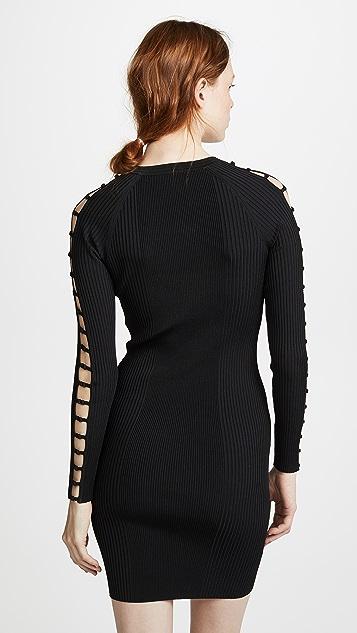 T by Alexander Wang Bra Strap Detail Dress