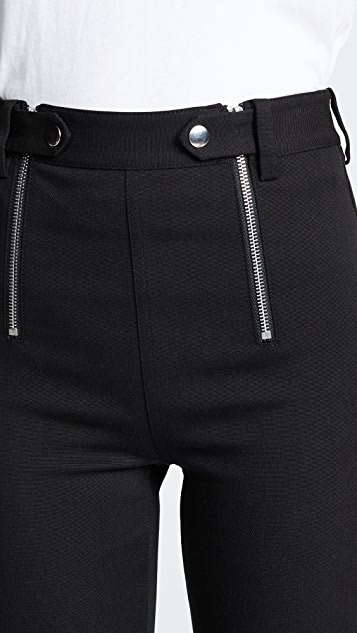 T by Alexander Wang Panelled Body Con Pants