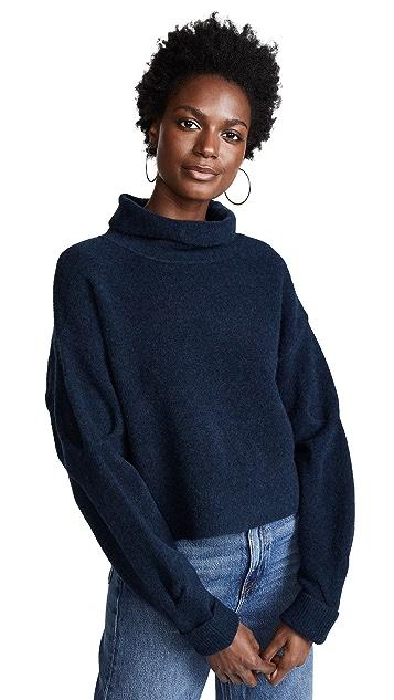 alexanderwang.t Chunky Cropped Wool Sweater