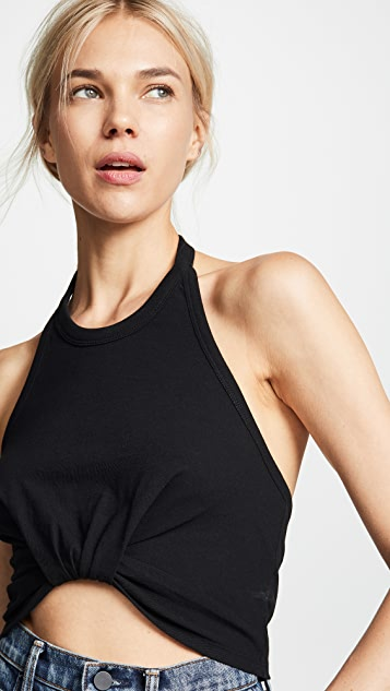 alexanderwang.t Halter Top With Twist Front Detail