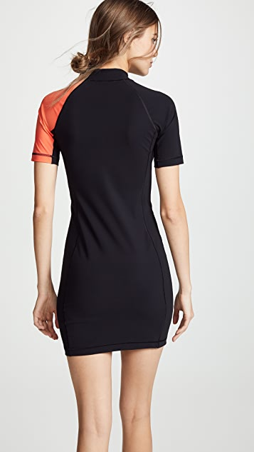 alexanderwang.t Swim Jersey Short Sleeve Dress
