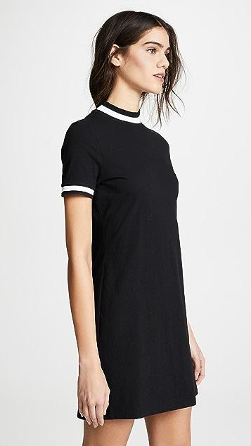 alexanderwang.t Платье с перекрученными короткими рукавами
